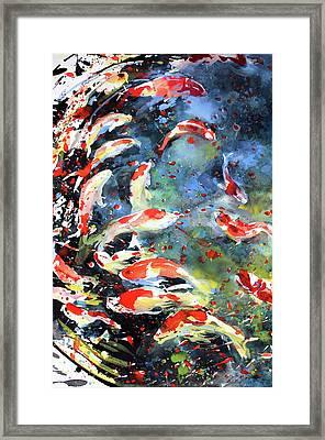 Diptych No.19 Left Framed Print
