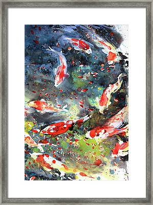 Diptych No.19 Right Framed Print