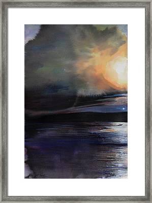 Diptych No.2 Left Framed Print