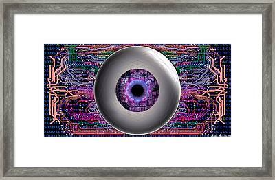 Direct Link Framed Print by Iowan Stone-Flowers