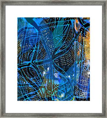 Direction - Which Way Lord Framed Print by Fania Simon