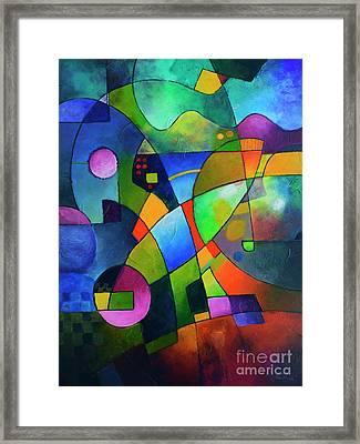Direction North Framed Print