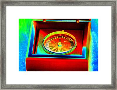 Direction Framed Print by Peter  McIntosh