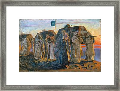 Dirge Of The Three Queens Framed Print