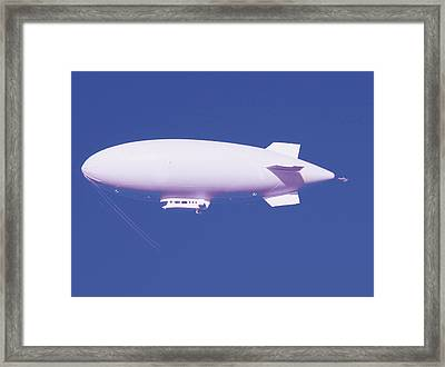 Dirigible Framed Print