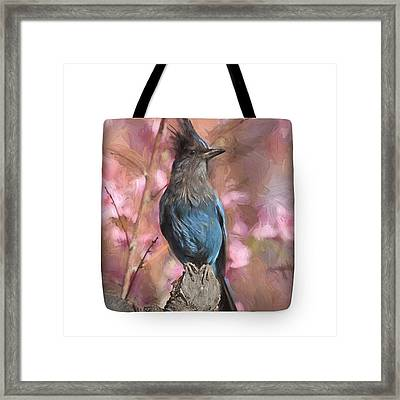 Dirty Bird- Tote Framed Print by Donna Kennedy