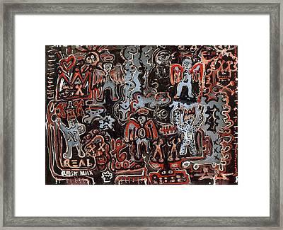 Dirty Bit Framed Print by Robert Wolverton Jr