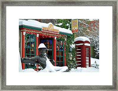 Dirty Dan In Winter Framed Print by Matthew Adair