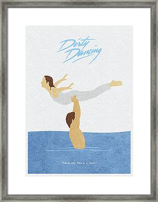 Framed Print featuring the painting Dirty Dancing by Inspirowl