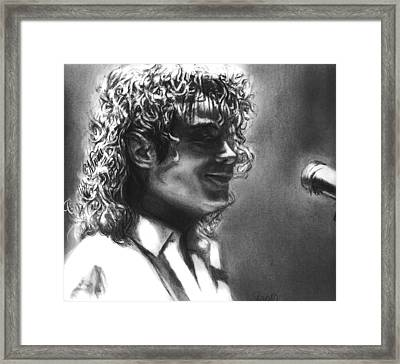 Dirty Diana Framed Print