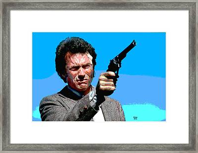 Dirty Harry  Framed Print