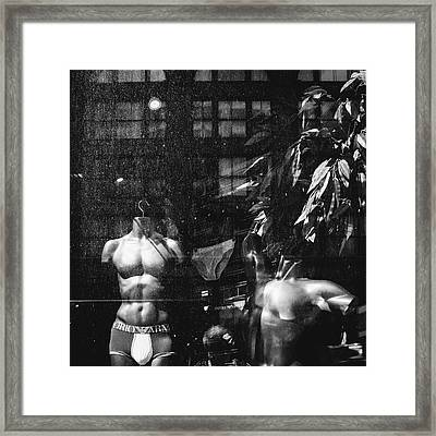 Dirty Mannequins Framed Print by Dylan Murphy