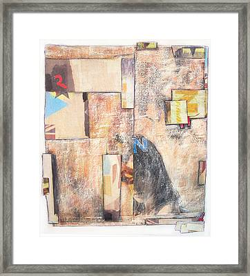Framed Print featuring the painting Dirty Slumber Part Four by Geraldine Gracia