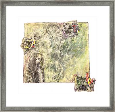 Framed Print featuring the painting Dirty Slumber Part Two by Geraldine Gracia