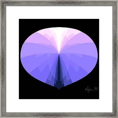 Disappear Framed Print by Angela Treat Lyon
