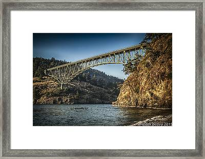 Disappointment Bridge Framed Print