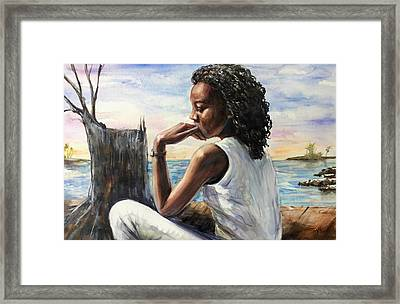 Disappointment Framed Print