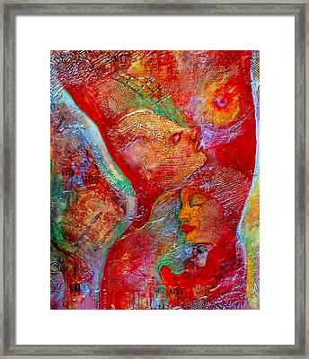 Disassembled Framed Print by Claudia Fuenzalida Johns