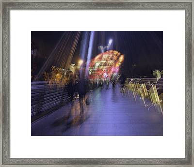 Framed Print featuring the photograph Disassembly by Alex Lapidus