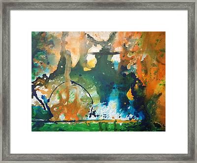 Disaster Framed Print by Pooja Verma
