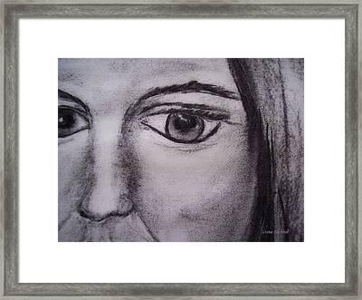 Disbelief Framed Print