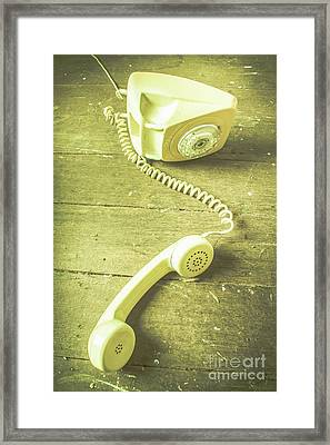 Disconnected Framed Print by Jorgo Photography - Wall Art Gallery