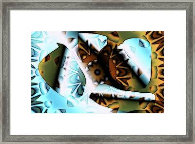 Discontinuous Permafrost Framed Print by Ron Bissett
