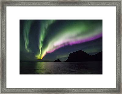 Discotheque Framed Print by Alex Conu