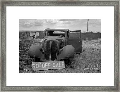 Discounted Framed Print