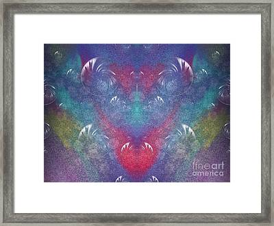 Discover The Laughter Within Framed Print