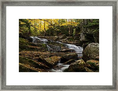 Discovery Falls Autumn Framed Print