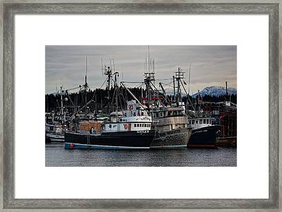 Framed Print featuring the photograph Discovery Harbour by Randy Hall