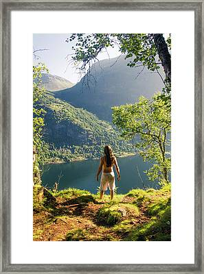 Discovery Framed Print by Iwan Groot