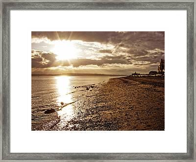 Discovery Park Sunset 4 Framed Print