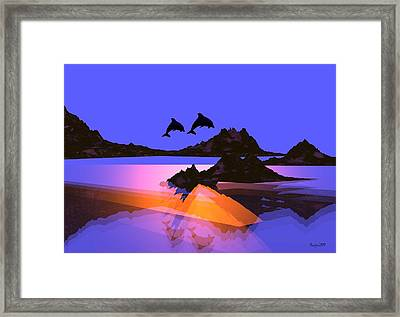 Discovery Framed Print by Robert Orinski