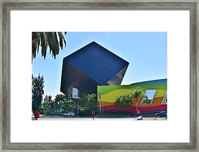 Discovery Science Center  Framed Print by Linda Brody