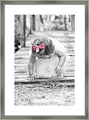 Discovery Framed Print by Scott Pellegrin