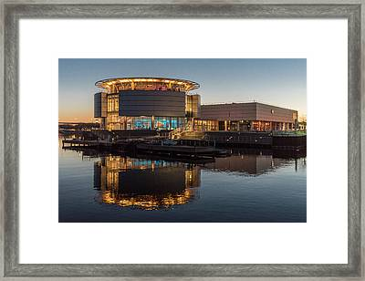 Framed Print featuring the photograph Discovery World by Randy Scherkenbach