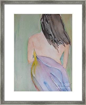 Discreet Framed Print by Djl Leclerc