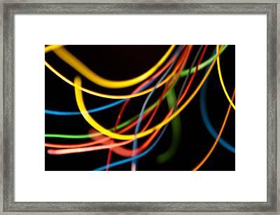 Discrete Entropy 13 Framed Print by Matthew Saindon
