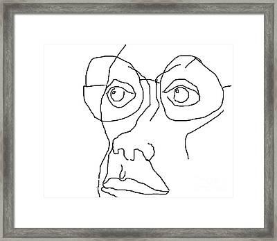 Disdain Framed Print by Richard Strana