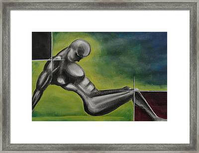 Disected Framed Print