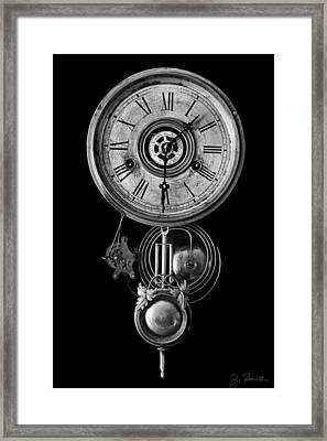 Disembodied Time Framed Print