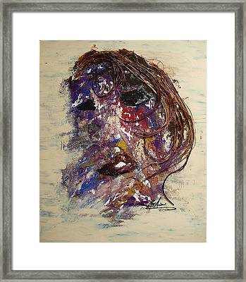 Disfigured Framed Print