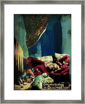 Disintegrating In Dusseldorf Framed Print by Adam Kissel