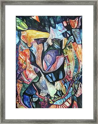 Disintegration Of The Personality Framed Print