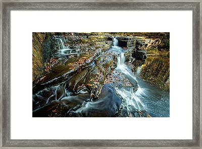 Dismal Creek Falls #2 Framed Print