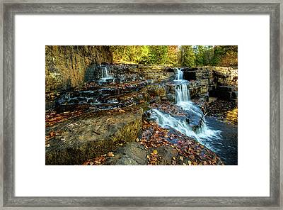Dismal Creek Falls Horizontal Framed Print