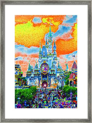 Disney At Fifty Framed Print by David Lee Thompson