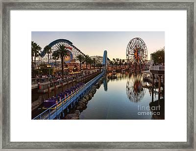 Disney California Adventure Framed Print